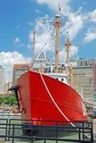 Bateau de chesapeake dans le port intérieur de Baltimore Images stock