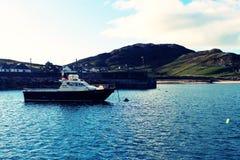 Bateau de Clare Island Images libres de droits
