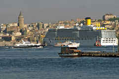 bateau de croisière Images libres de droits