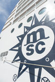 Bateau de croisière de MSC Musica Image stock