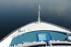 bateau de croisière de proue Image libre de droits