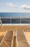 Bateau de croisière en mer Photographie stock