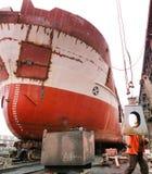 bateau de dock Image stock