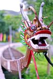 Bateau de dragon Images libres de droits