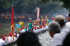 Bateau de dragon dans Guangzhou Image libre de droits