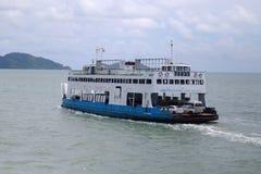 Bateau de ferry Image libre de droits