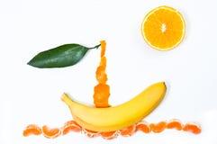 Bateau de fruit Image stock