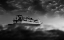 Bateau de Ghost Photo stock