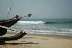 Bateau de Goan Photos libres de droits