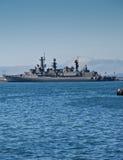 Bateau de guerre chilien de bataille Image stock