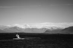 Bateau de l'Islande Images libres de droits