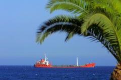 bateau de la mer Méditerranée Images libres de droits