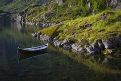Bateau de la Norvège Image libre de droits