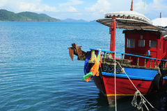 Bateau de la Thaïlande photo stock