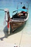 Bateau de long arrière en Asie Photographie stock libre de droits