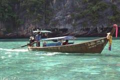 bateau de Long-queue Image libre de droits