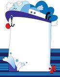 Bateau de mer Photographie stock libre de droits