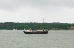 bateau de mer d'élément de conception Images libres de droits