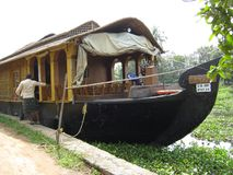 Bateau de MoonSong dans l'Inde Photo stock