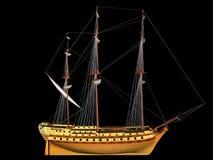 bateau de navigation Images libres de droits