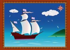 bateau de navigation Photographie stock libre de droits
