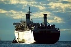 bateau de navigation Photographie stock