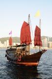 Bateau de navigation chinois photographie stock