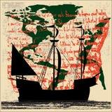 bateau de navigation d'exploration Photos stock