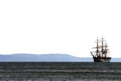 Bateau de navigation de Vespucci Images libres de droits
