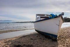 Bateau de pêche échoué # 2 Image libre de droits