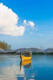 Bateau de pêche Photo libre de droits