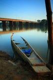 Bateau de pêche. photos libres de droits