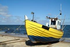 Bateau de pêche image libre de droits
