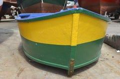 Bateau de pêche chez Camara de Lobos, Madère, Portugal photographie stock