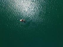 Bateau de pêche cornouaillais photo libre de droits