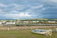 Bateau de pêche d'Abandonned Photo libre de droits