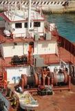 Bateau de pêche d'Induatrial photo libre de droits
