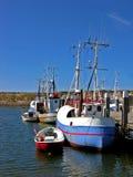Bateau de pêche danois photo stock