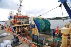 Bateau de pêche dans Killybegs Photo libre de droits