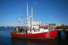 Bateau de pêche de Cape Cod Photographie stock libre de droits