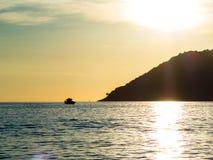 Bateau de pêche de Paraty Photo stock