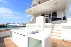 Bateau de pêche de yacht photo stock