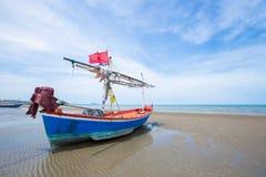 Bateau de pêche en bois Photo libre de droits