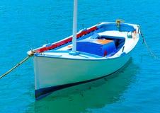 Bateau de pêche grec Photographie stock
