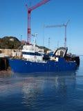 Bateau de pêche, Groenland Photographie stock
