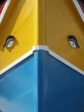 Bateau de pêche maltais de luzzo Photos libres de droits