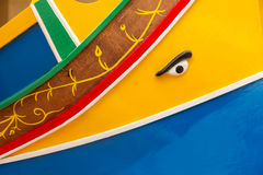 Bateau de pêche, Marsaxlokk, Malte Photographie stock libre de droits