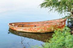 Bateau de pêche mexicain Images stock