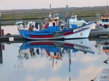 Bateau de pêche portugais Photo stock