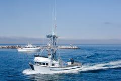 Bateau de pêche professionnelle Photo libre de droits